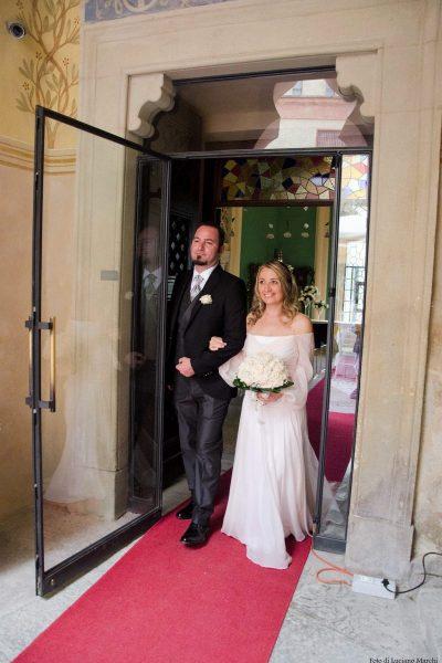 Matrimonio in Rocchetta: ingresso nella Sala dei Novanta